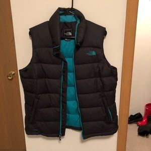 North Face puff vest